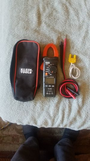 Digital AC clamp meter for Sale in Plano, TX