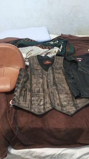 Mortorcycle vest bundle for Sale in Pontiac, MI
