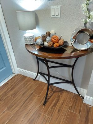 Walnut Console table for Sale in Fort Lauderdale, FL