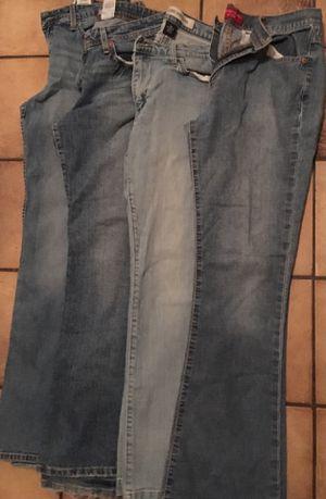 Women's jeans size 8 -12 for Sale in Hudson, FL