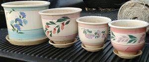 Ceramic plant pots for Sale in Woodbridge, VA