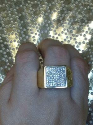 Men diamond gold ring new for Sale in Atlanta, GA