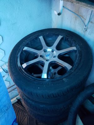 """(4)18""""rims& tires for Sale for sale  Queens, NY"""