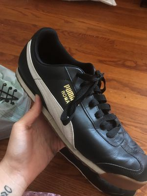worn once indoors size 12 puma roma for Sale in San Diego, CA