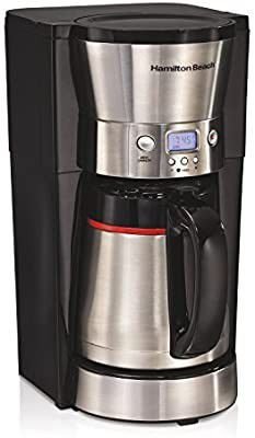 Hamilton Beach 46896A 10 Cup Coffee Maker with Vacuum Stainless Thermal Carafe for Sale in Houston, TX