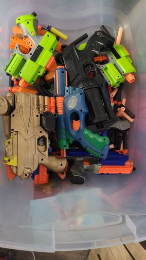 Nerf guns - lot of 11 or 12 for Sale in Peoria, AZ