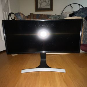 Samsung 29-Inch Curved Monitor SE790C for Sale in Solana Beach, CA