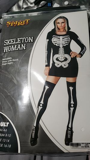 Skeleton woman costume for Sale in Chicago, IL