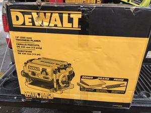 "Dewalt 13""thickness planer new for Sale in North Las Vegas, NV"