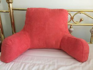 Plush Coral Bed Lounge Pillow for Sale in Columbia, MD