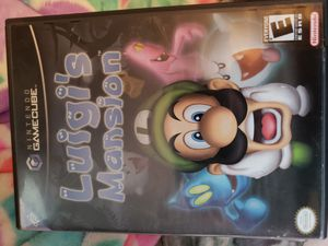 Gamecube Luigi's Mansion Complete for Sale in Tamarac, FL
