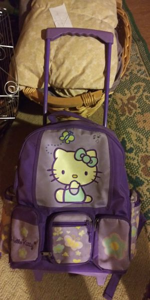 Hello Kitty Rolling Bag for Sale in Stanton, CA