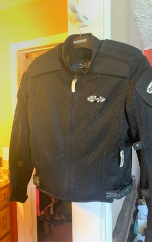 Joe Rocket motorcycle jacket with all pads for Sale in Murfreesboro, TN