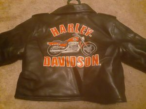Harley Davidson Adorable Childs Leather Jacket Authentic for Sale in Austin, TX