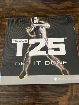 T25 exercise video set for Sale in Auburn, WA