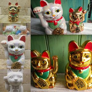 Good Fortune Cat Figurines Feng Shui Cat Collection for Sale in Gulfport, FL
