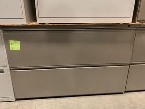 """Herman Miller 42"""" lateral filing cabinet for Sale in Denver, CO"""