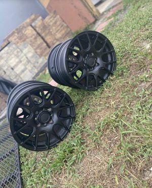 Black Rage Rims for Sale in Deltona, FL