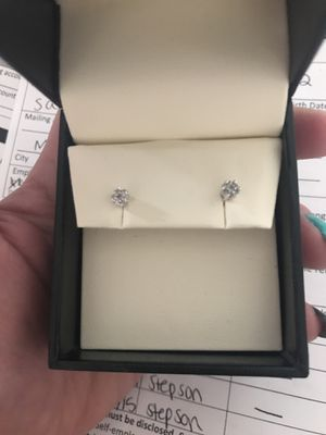 Diamond earrings for Sale in Portland, OR