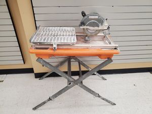 Ridgid Tile Daw With Stand for Sale in Phoenix, AZ