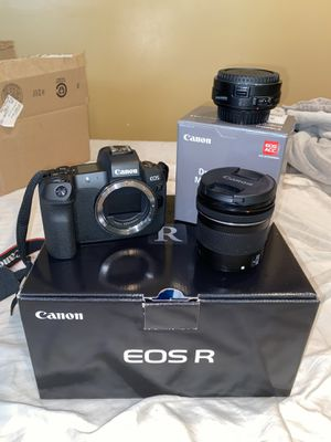 Canon Eos R with ND filter EF adapter & 10-18mm Lense for Sale in Ashburn, VA