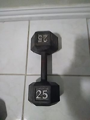 25 lb Dumbbell for Sale in Dallas, TX
