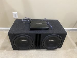 MMATS PRO AUDIO Subwoofer SetUp (10in) for Sale in Stafford, VA