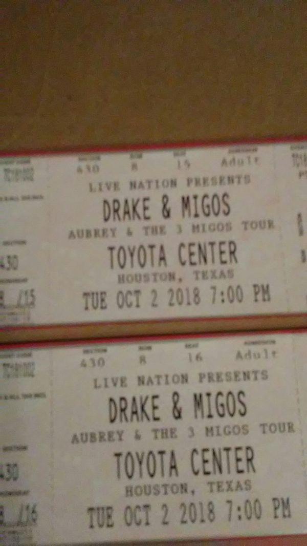 Drake & Migos concert. Pair