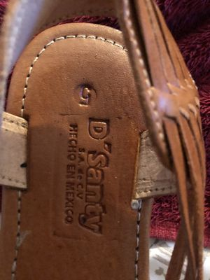 D'santy Mexican huaraches for Sale in Las Vegas, NV