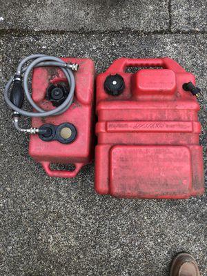 2 OutBoard Fuel Tanks for Outboard Motors for Sale in Auburn, WA
