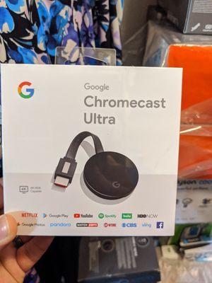 Google chromecast ultra 4k for Sale in Deer Park, TX