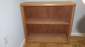 Oak book case for Sale in Fairfax, VA