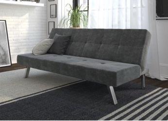 Light gray microfiber futon for Sale in Syracuse,  UT