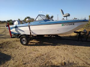 Boat and Trailer for Sale in Pinon Hills, CA