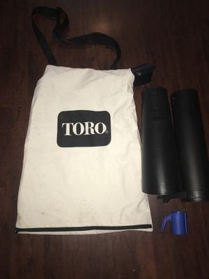 Toro Lawn Mover Bag Plus Extras for Sale in San Diego, CA