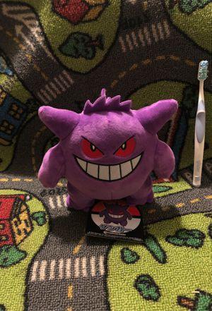 Pokémon Center Gengar Plush for Sale in Fresno, CA