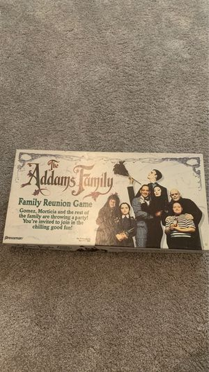 Adams Family board game $30 for Sale in San Diego, CA