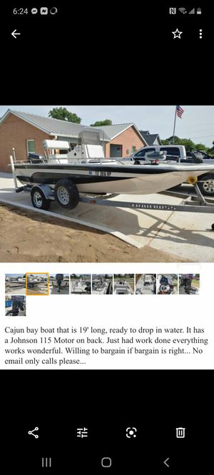 Cajun Boat for Sale in San Antonio, TX