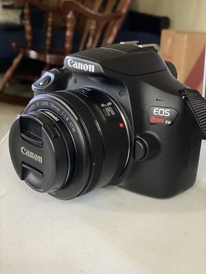 Canon Rebel T6 - 50MM Lens for Sale in Chino Hills, CA