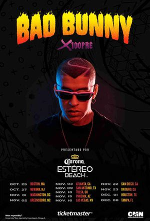 BAD BUNNY: X 100 PRE TOUR for Sale in Beverly Hills, CA