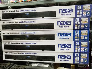 "42"" long QUALITY BLUETOOTH SOUND BAR BY Naxa. BRAND NEW for Sale in Los Angeles, CA"