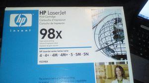 Genuine HP 98x toner new in the box for Sale in Rialto, CA