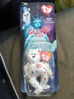 Glory the bear misprint beanie baby for Sale in Nashville, TN