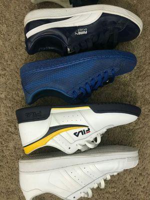 Pumas sz 9.5 filas n Adidas sz 10 offer up for Sale in West Palm Beach, FL
