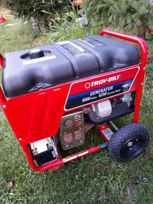 Troy-Bilt electric start generator for Sale in Reynoldsburg, OH