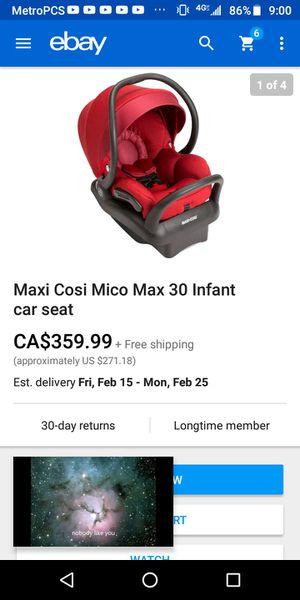 Infant car seat for Sale in Springdale, AR