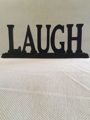 """Laugh"" sign for Sale in San Diego, CA"