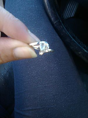 Silver wedding ring size 7 for Sale in Hayward, CA