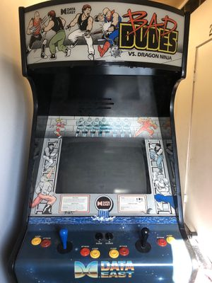 Original 1988 Bad Dudes Vs DragonNinja Coin Operated Arcade Game for Sale in Burien, WA
