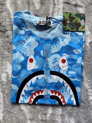 Blue bape t shirt for Sale in Miami, FL